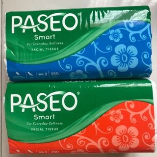 tissue tisue tisu paseo smart 250 sheets 2ply