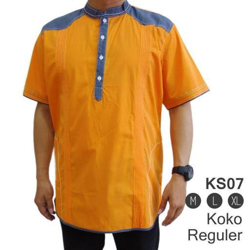PROMO TERBATAS Baju Koko KS07 – Pakaian Muslim Pria