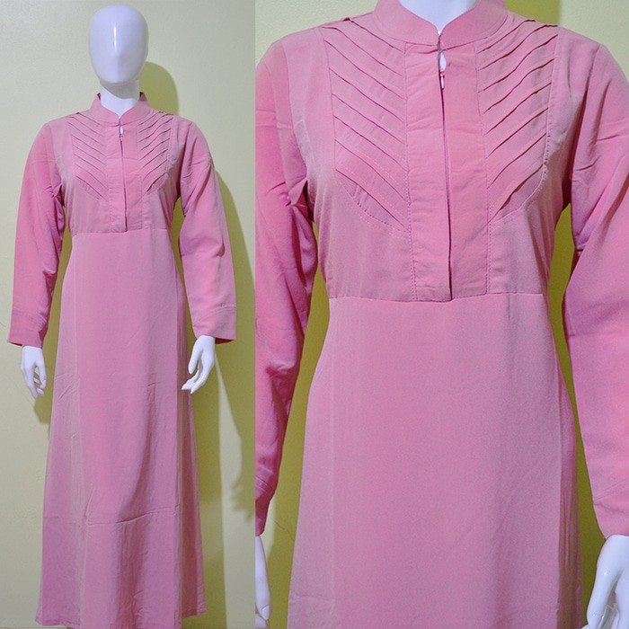 (WG 3) Gamis Warna | Baju Muslim | Long Dress | Busana Muslimah
