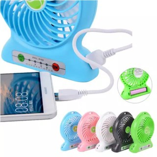 Kipas angin Portable / Powerbank / Senter / Kipas Mini Fan USB / Kipas Charge /Kimberlinofficialshop
