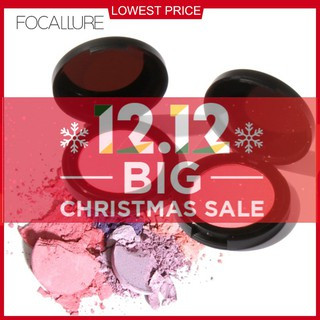 FLASH SALE COD FOCALLURE Palet Blush On 11 Colors Face Mineral Pigment