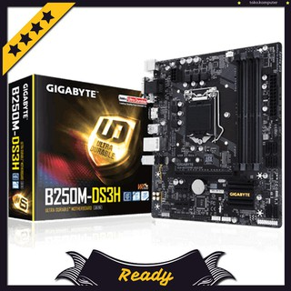 Motherboard Gigabyte GA-B250M-DS3H Socket 1151 KABY LAKE / Motherboard Gaming Intel Murah