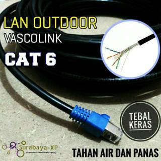 Kabel LAN UTP STP FTP 15Meter 15M 15 Meter 15Meter CAT6 Outdoor