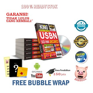 FREE NOTES !!! PROMO MEGA BEST SELLER : BEDAH KISI-KISI USBN SD/MI 2020 - THE KING BONUS ++