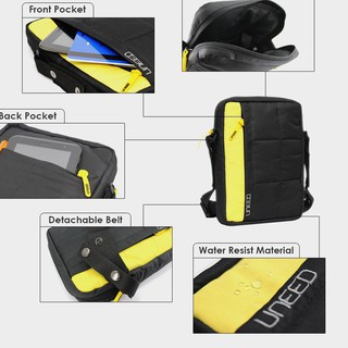 @Ada#007 Uneed DUTY DAY Tas Selempang Pria Water Resistant - UB201 **Toko_ready
