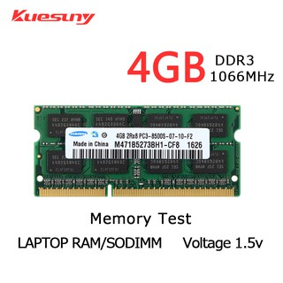 Memory RAM DDR3 4GB 2rx8 DDR3 1066Mhz pc3-8500s 204Pin untuk Laptop Notebook