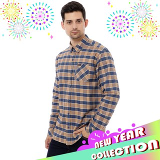 Cottonology Hazard Blue Custard Long Shirt