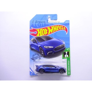 Hot Wheels TESLA MODEL S Biru