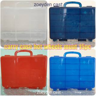 Hot wheels Carry case muat 15pcs
