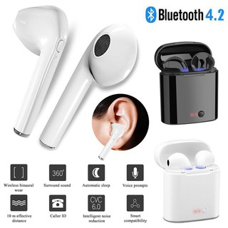 i7s TWS Wireless Bluetooth Earphone In-ear Stereo With Charging Box For iPhone / Android