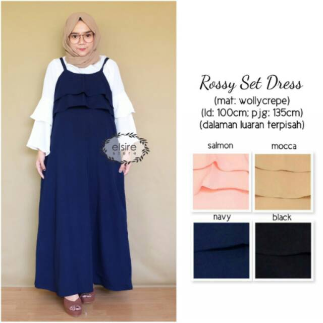 Restock Rossy set dress