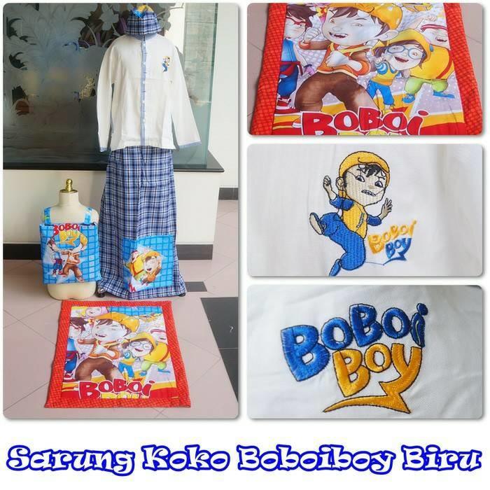 S Sarko/Baju Koko + Sarung Instan + Sajadah + Peci + Tas Lengkap