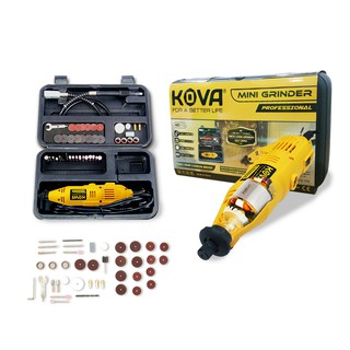 Mini Die Grinder Set 40 Pcs Kova Tuner Set YELLOW