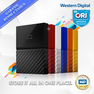 WD My Passport 1TB - HDD / HD / Hardisk / Harddisk External 2.5