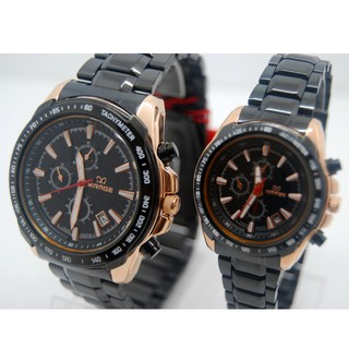 Jam Tangan COUPLE Original Mirage 8305 htm rosegold couple