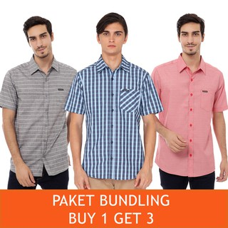 Cottonology Bundling Kemeja Buy 1 Get 3