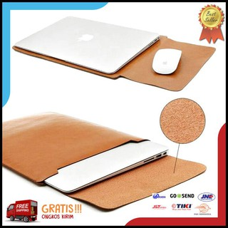 Casing Laptop Tas Macbook Air Pro Retina 15 Inch Leather 15.4 Touchbar 2017 18