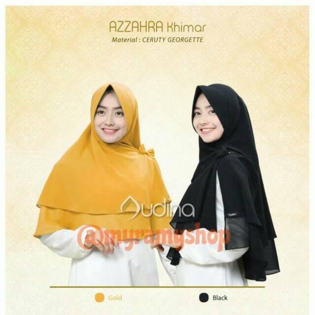 AZZAHRA KHIMAR BY AUDINA INDONESIA : jilbab menawan harga ringan
