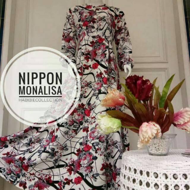 Gamis syari Nippon White