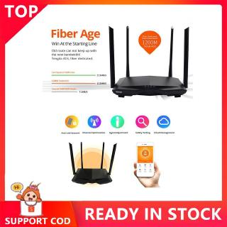 ▸◂Tenda ac6 1200Mbps Wireless WiFi Router 4-antenna 2.4GHz / 5.0GHz Dual Band A
