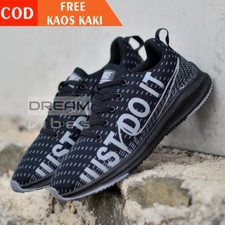 SEPATU PRIA NIKE JUST DO IT SNEAKERS RUNNING NEW 2019