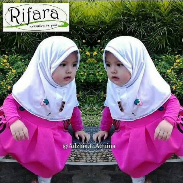 Jilbab anak kerudung anak Rifara