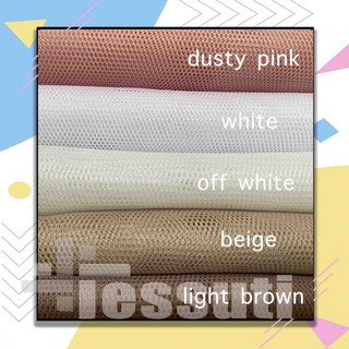 KAIN TILE HALUS POLOS 0.5m - SOFT TULLE 0,5 meter