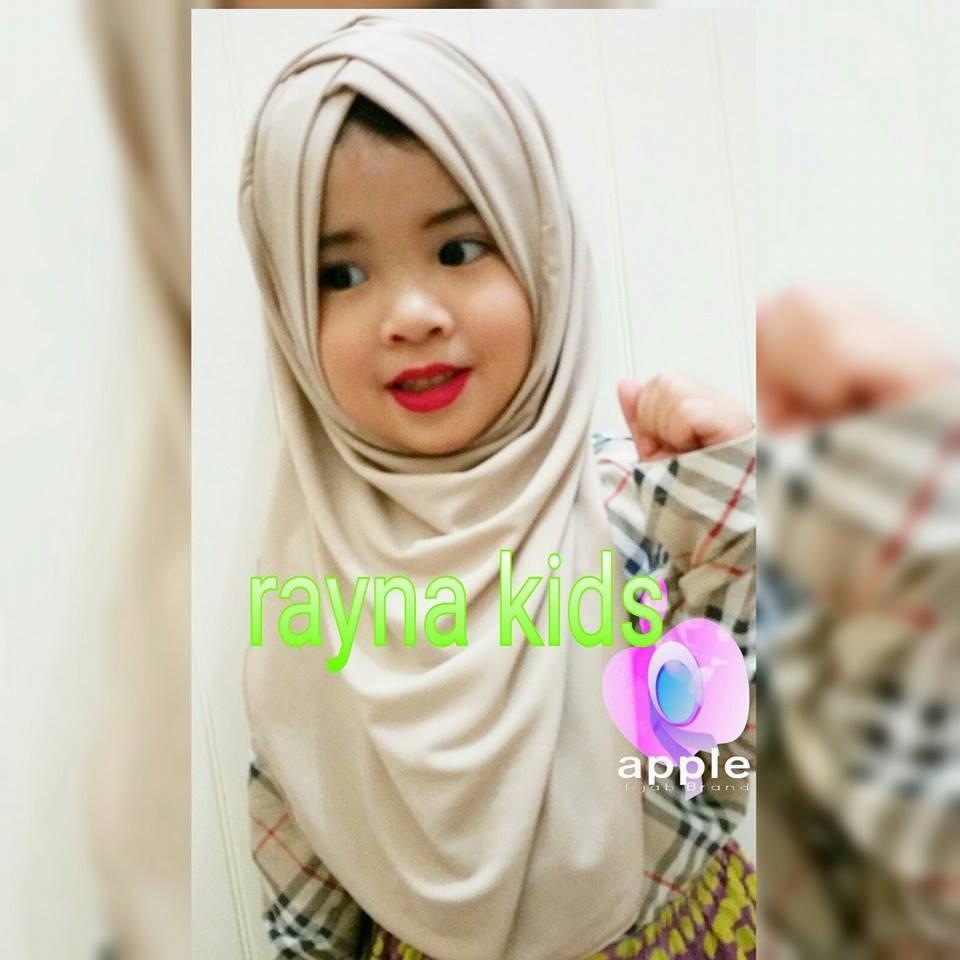 RAYNA KIDS by Apple Hijab