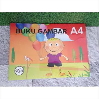 Buku Gambar Drawing Book Ria A4