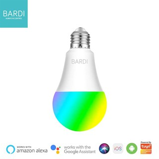BARDI Smart LIGHT BULB RGB+WW 10W Wifi Wireless IoT - Energy Efficient