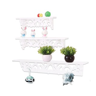 Rak Dinding Wall Rack 1 set isi 3 pcs ukuran 36,46,60