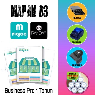 MESIN KASIR ANDROID (MAJOO 1 THN+CASH DRAWER+PRINTER THERMAL+SCANNER BLUETOOTH+BONUS KERTAS THERMAL)