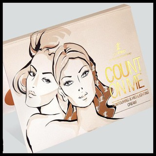 Produk Unggulan Lt Pro Count On Me Contouring And Highlighting Cream Palette Palet