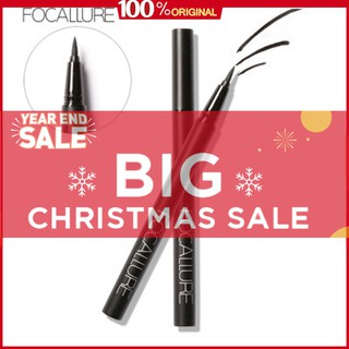 FLASH SALE COD FOCALLURE Eyeliner Water Pencil eyes Liner Liquid Make Up Pencil Double-ended