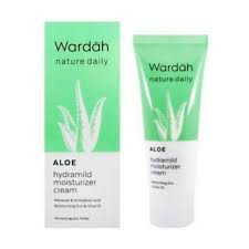 Wardah Nature Daily Aloe Hydramild Moisturizer Cream