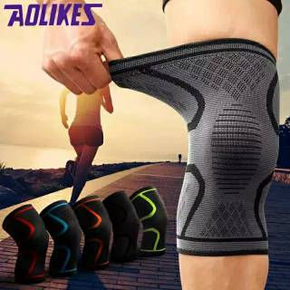 Knee Support Knee Brace Fitness Running  Deker Lutut Knee Pad Kneepad Aolikes