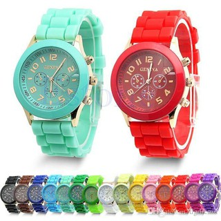 GENEVA 259 Jam Tangan Wanita Analog Fashion Casual Women Wrist Quartz Watch