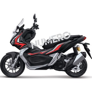 cutting sticker honda adv 150 stiker striping adv DESAIN A021