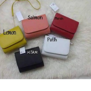 {Original} BANYAK WARNA BIG SALE RAMADHAN GROSIR TERMURAH MODEL HnM H&M CLUTCH RING MINI SLINGBAG MI