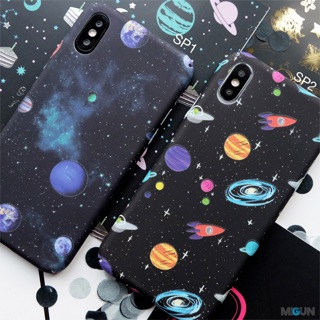 NEW! Space Case - Full Cover Glow In The Dark - IPHONE OPPO XIAOMI XIAOMI VIVO