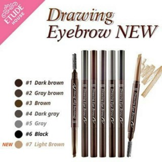 {ORIGINAL!!!} Etude House Drawing Eye Brow New Brush# {READY SIAP KIRIM & COD}
