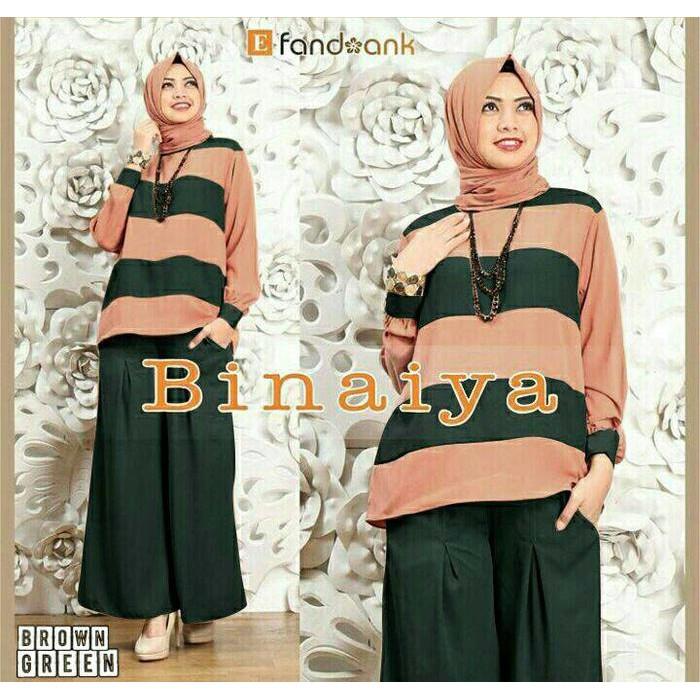 Gamis / Baju Wanita Muslim Binaiya Syari