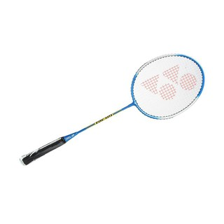 Yonex Badminton Racket GR 303 Blue Termasuk Senar Plus Cover