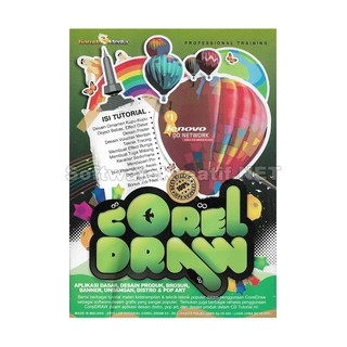 Garuda Media CD Video Tutorial Corel Draw - Desain Produk, Banner, Undangan, Distro, Dan Pop Art