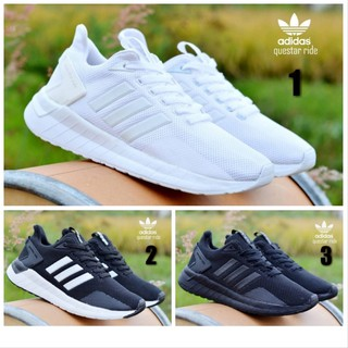 SEPATU ADIDAS QUESTAR RIDE RUNNING SNEAKERS SPORT MEN IMPORT BEST SELLER ALL VARIANT - KODE AQRM1