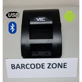 PRINTER KASIR THERMAL BLUETOOTH VSC - P58UB (USB + BLUETOOTH) DESKTOP PRINTER