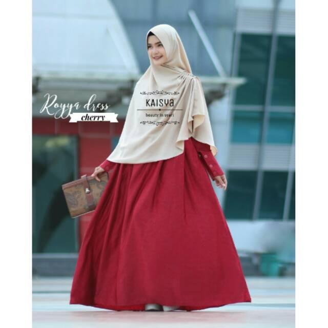 Royya Dress by kaisya CHERRY