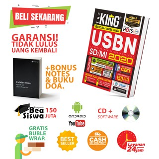 THE KING BEDAH KISI2 USBN SD / MI 2020 (BESTSELLER)