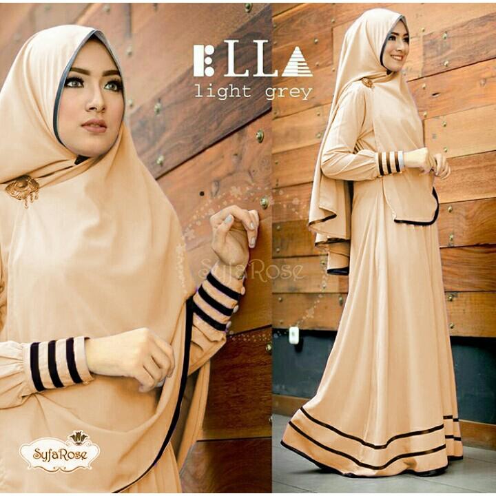 Fashion SYFA SYARI | PAKAIAN MUSLIM Wanita | Dress GAMIS COKSU UKURAN XL -KS