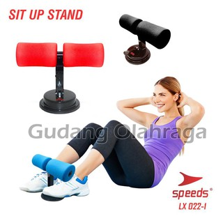 Sit Up Stand Alat Bantu Holder Penahan Pegangan Kaki Fitness Yoga Gym SPEEDS LX022-01